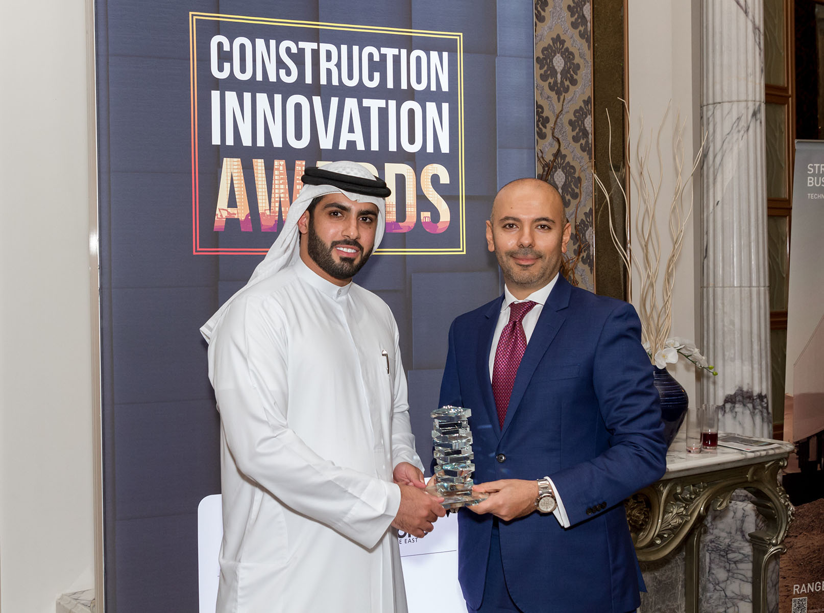 Commercial Project of the Year Award - Dubai Arena