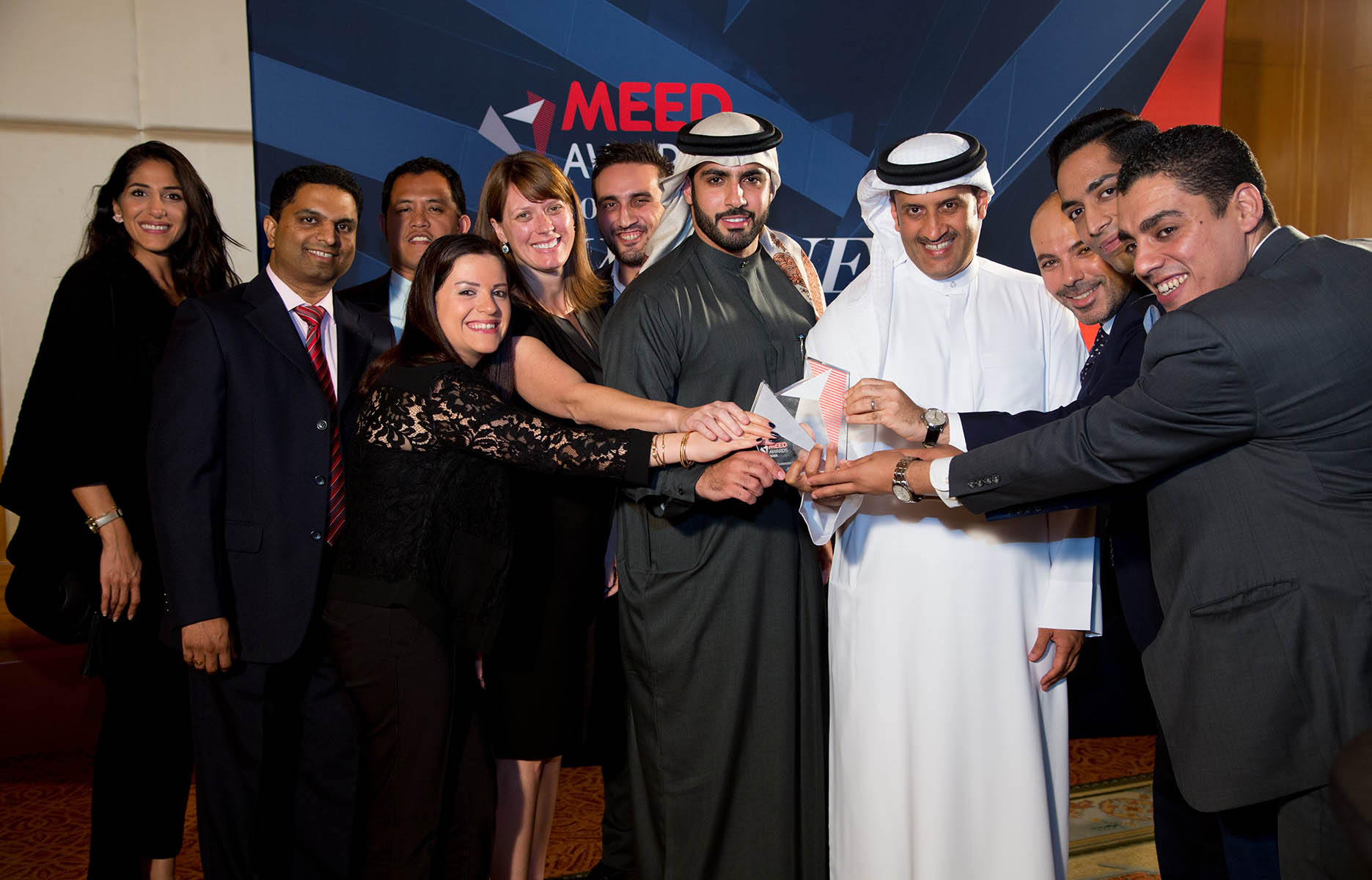 Contractor of the Year Award 2018 by MEED