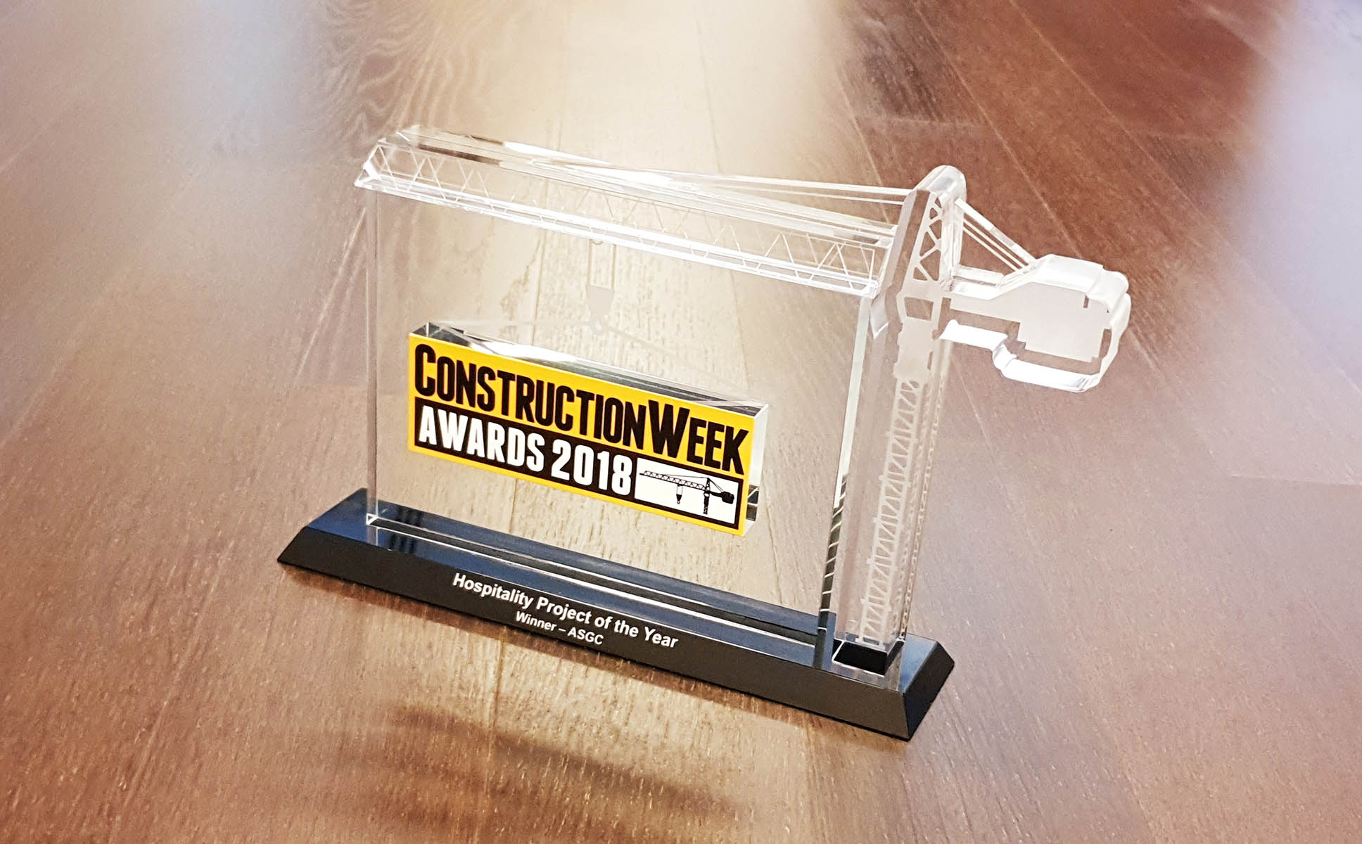 Dubai Arena – Hospitality Project of the Year Award 2018 by Construction Week