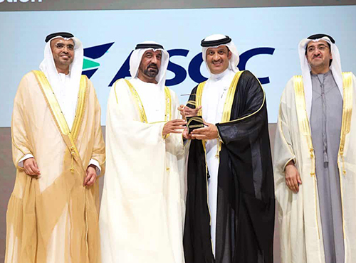 ASGC receives both coveted Mohammed Bin Rashid Al Maktoum awards