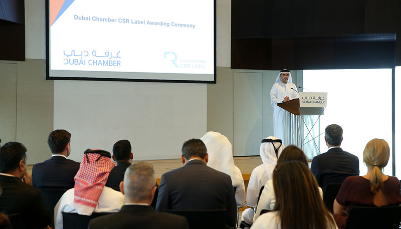 Dubai Chamber presents 35 businesses with CSR Label for their efforts in H2 2019