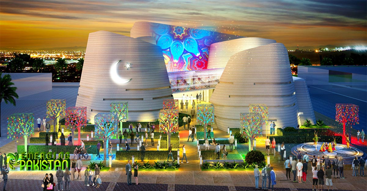 Expo 2020's Pakistan Pavilion in