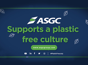 ASGC supports the Plastic Free July movement