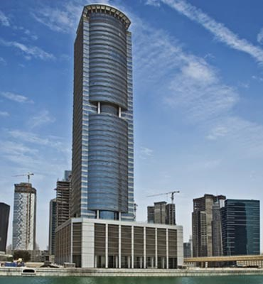 Citadel Tower | Commercial Buildings Construction Companies in Dubai