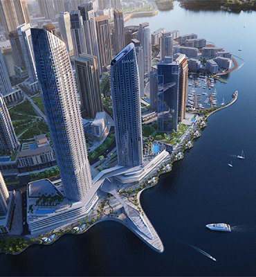 The Address Harbour Point Luxury  5star Hotel | High Rise Buildings Construction Companies In Dubai