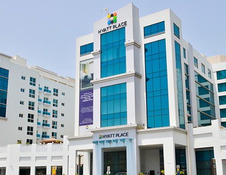 Hyatt Place Hotel | Hotel Projects Construction Companies in Dubai |