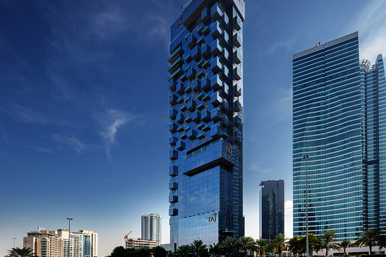 Taj Hotel - JLT | Hotel Projects Construction Companies in Dubai