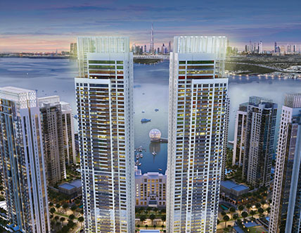 Harbour Views by Building Construction Company UAE ASGC