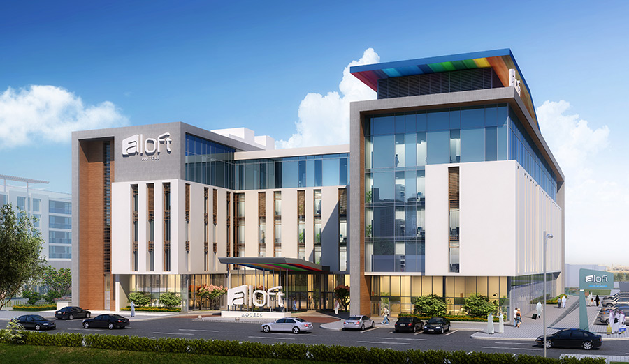Aloft Hotels | Hotel Projects Construction Companies in Dubai | Leading Construction Companies In Dubai