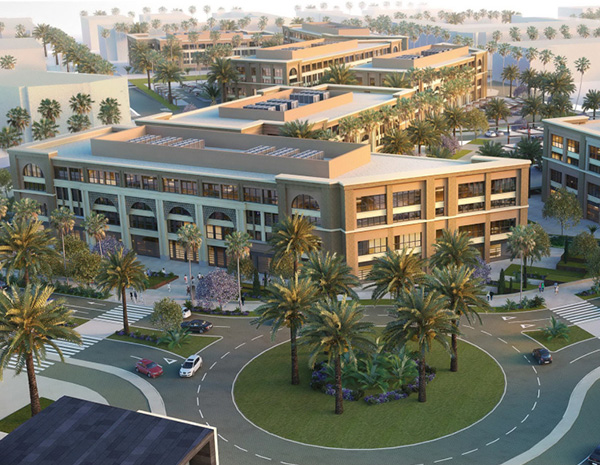 Mivida Office Parks | Commercial Buildings Construction Companies in Dubai