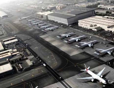 Dubai International Airport EK & FZ maintenance facilities | Industrial Construction Companies in Dubai